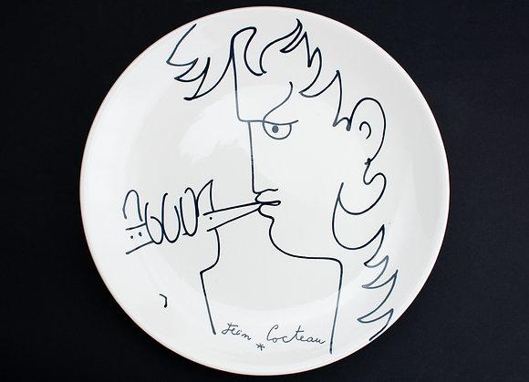 ジャン・コクトー 絵皿