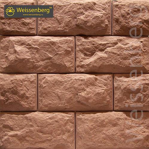 Фасадный камень Верона шоколадный