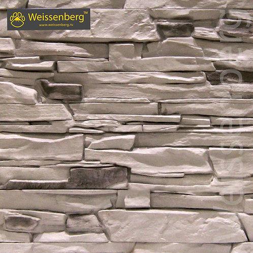 камень альпы серый