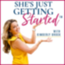 She's Just Getting Started Cover Art .jp