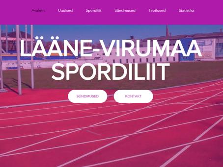 Spordiliidul valmis uus veebileht