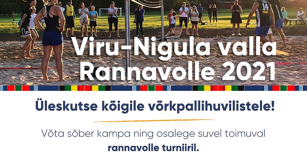 Viru-Nigula rannavolle Suveturniir / I etapp Mahus