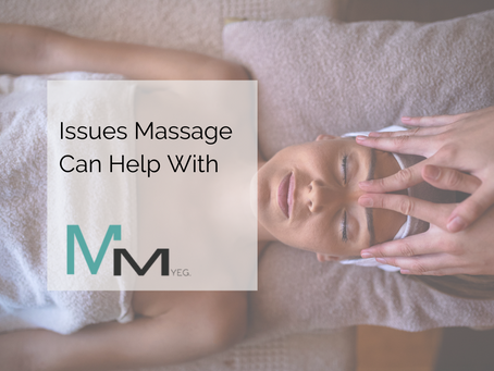 Issues Massage Can Help With