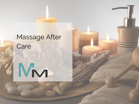 Massage After Care