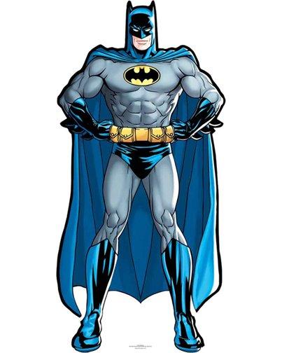 silhouette super-héros