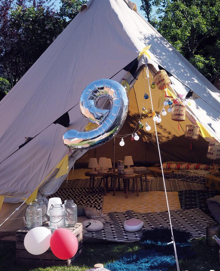 Location de tipi outdoor