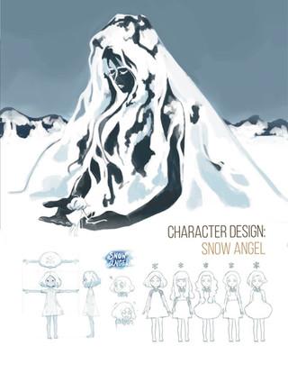 Character Design: Snow Angel