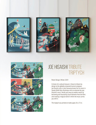 Tribute Triptych: Joe Hisaishi