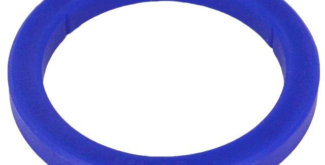 blue silicon flat portafilter gasket.