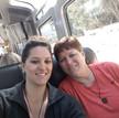 Enjoying the ride to Machu Picchu