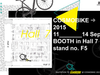COSMOBIKE 2015 (11-14 SEP.)