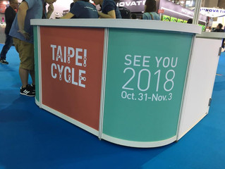 TAIPEI CYCLE 2018 FROM OCT. 31