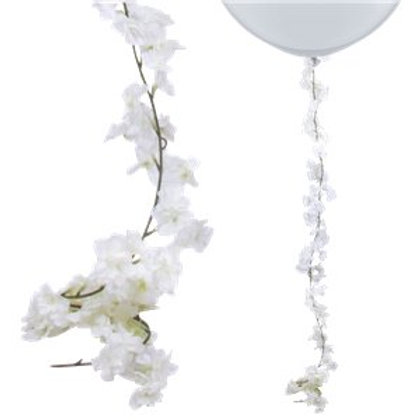 White Blossom Garland 2.1m