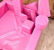 Pink soft play hire Surbiton, Surrey, Cobham, Esher, Worcester Park