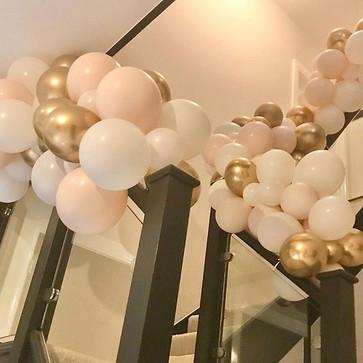 Staircase balloonies 💗_#staircaseballoo