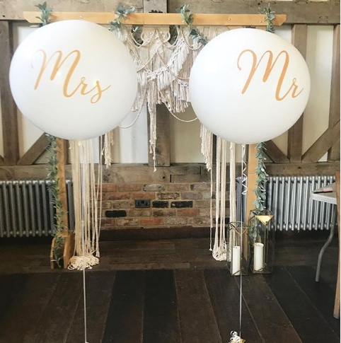 Mr and Mrs Balloons