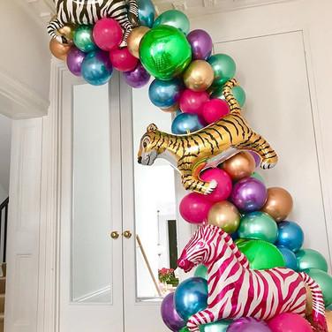 Artistic Jungle Balloons London