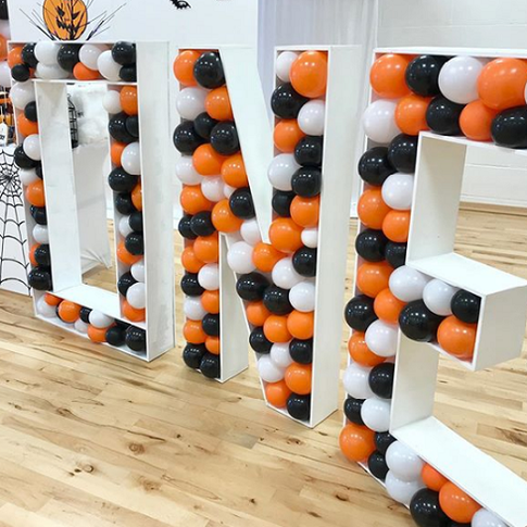 Balloon Filled Letters