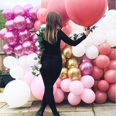 Bohemian Balloon Wall