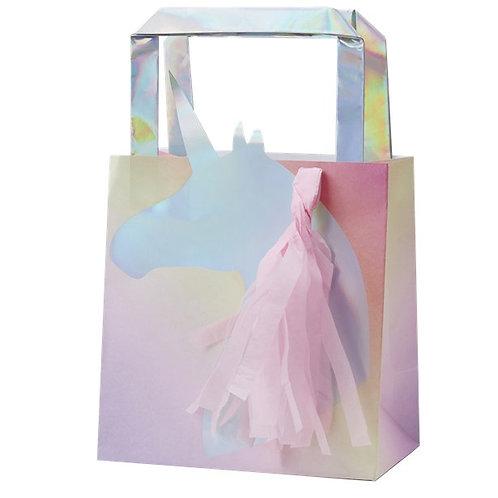 Unicorn Wishes Iridescent Unicorn Tassel Party Bags