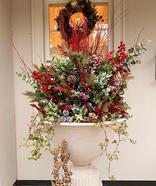 Bespoke Christmas Planters