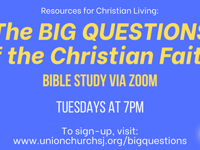Bible Study: The Big Questions of the Christian Faith