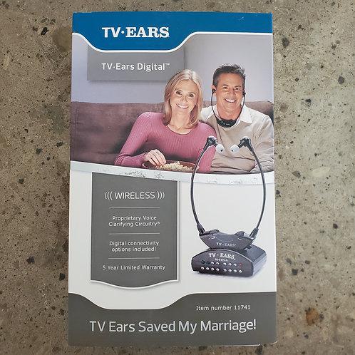 Item #8 - Set of TV Ears with headphones