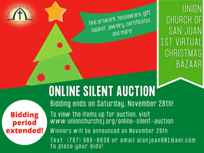Online Silent Auction - Bidding Period Extended!