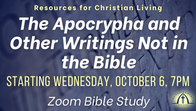 [NEW] The Apocrypha and Other Writings Not in the Bible (Resources for Christian Living)