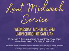Lent Midweek Service