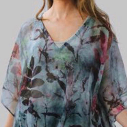 Item #9 -Tunic Top in pure silk (One Size)