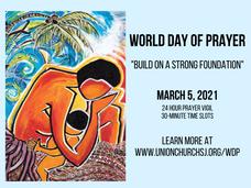 World Day of Prayer - March 5, 2021