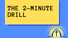 [WATCH] The 2-Minute Drill
