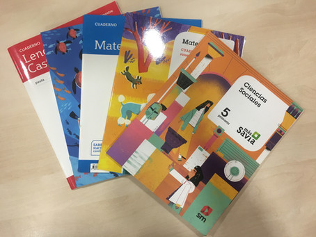 Disponibles los libros de texto para el Curso Escolar 2020-21