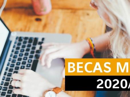 Tramitación Becas MEC 2020-21