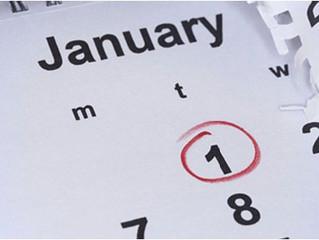 January Looking Forward