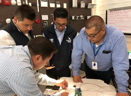 Capacitación de la empresa Promtech sobre estrategias de protección de edificios , noviembre 2019