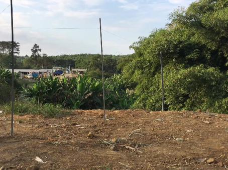 Instalacion sistema seguridad perímetro en granja Pronaca en Santo Domingo