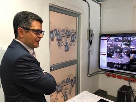 Instalación sistema protección perimetro en cargo aeropuerto Quito,Mariscal Sucre