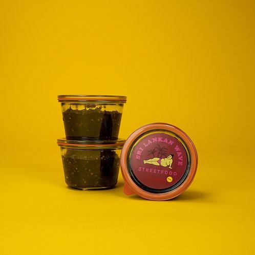 Chili Chutney, Essen im Glas