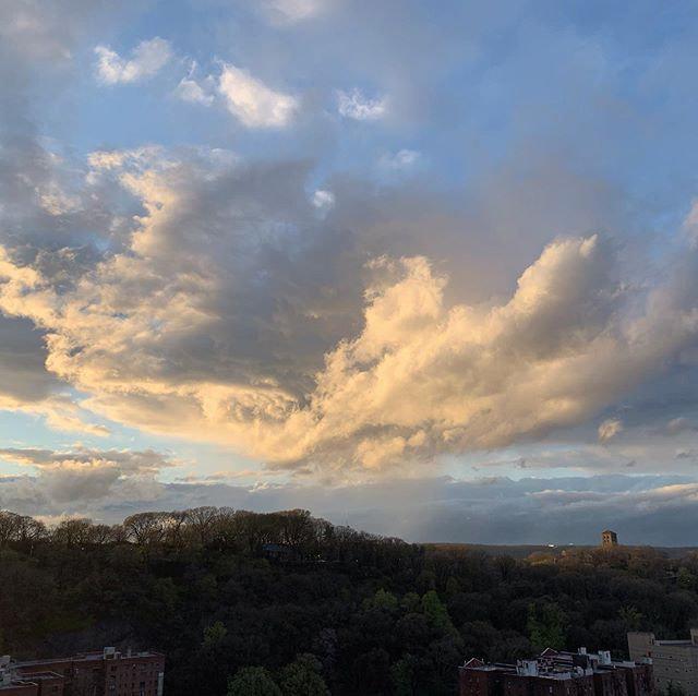 Sunset Cloudscape | Monday, April 13, 20