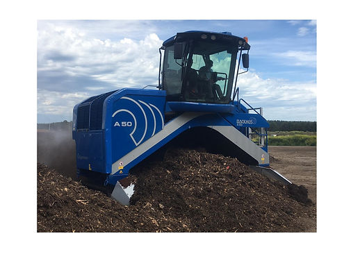 BACKHUS A 30 Windrow Turner