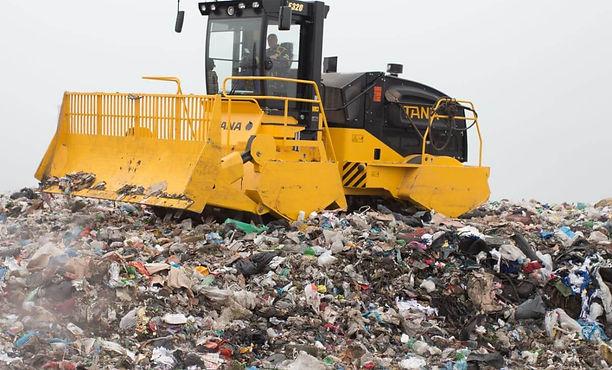 TANA E320 Landfill Compactor