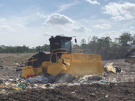 Australia's First Tier IV Engine Tana Landfill Compactor