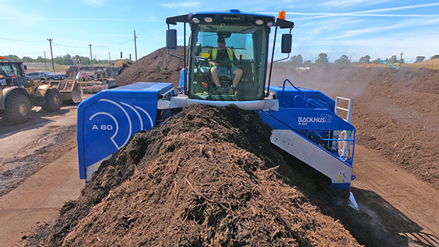 BACKHUS A 60 Windrow Turner