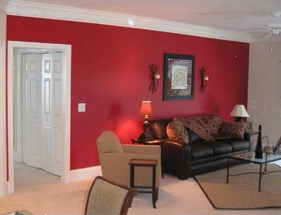 interior red