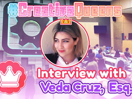 #CreativeQueens - Episode 5 - Interview with Veda Cruz, Esq.