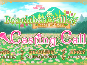 We've opened up a Casting Call!