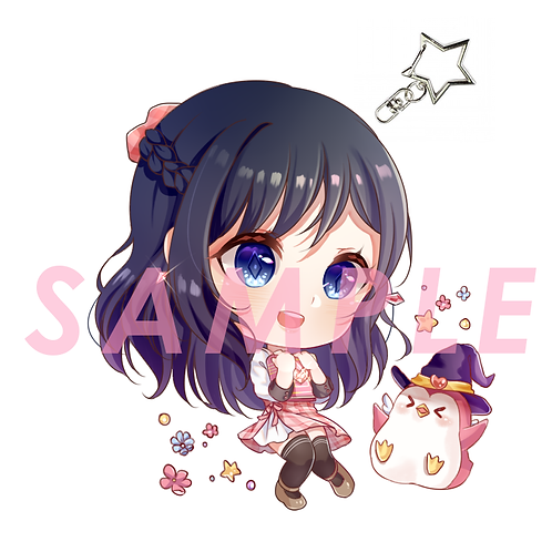 """Official """"Love Spell"""" Acrylic Charms (2"""" & Double-Sided)"""