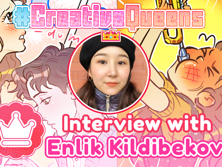 #CreativeQueens - Episode 7 - Interview with Enlik Kildibekova